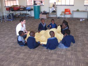 Groepstherapie in afrika