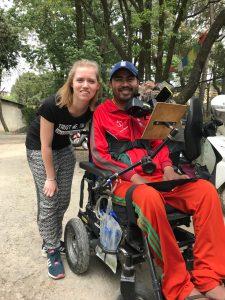 Individuele fysiotherapie in Nepal