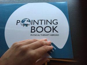 Het Pointing Book voor fysiotherapie in het buitenland