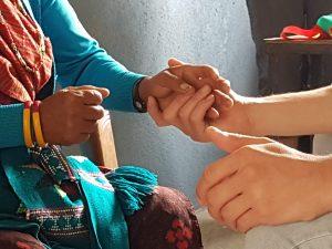 Hand-on behandelen in Nepal