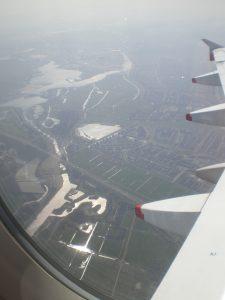 terug naar huis, vliegtuig