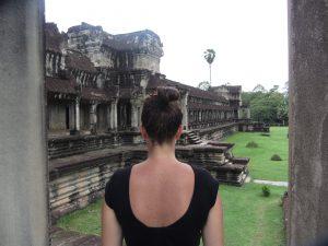 Bij de tempels van Angkor Wat