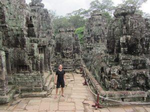 Deelnemer bij de tempels